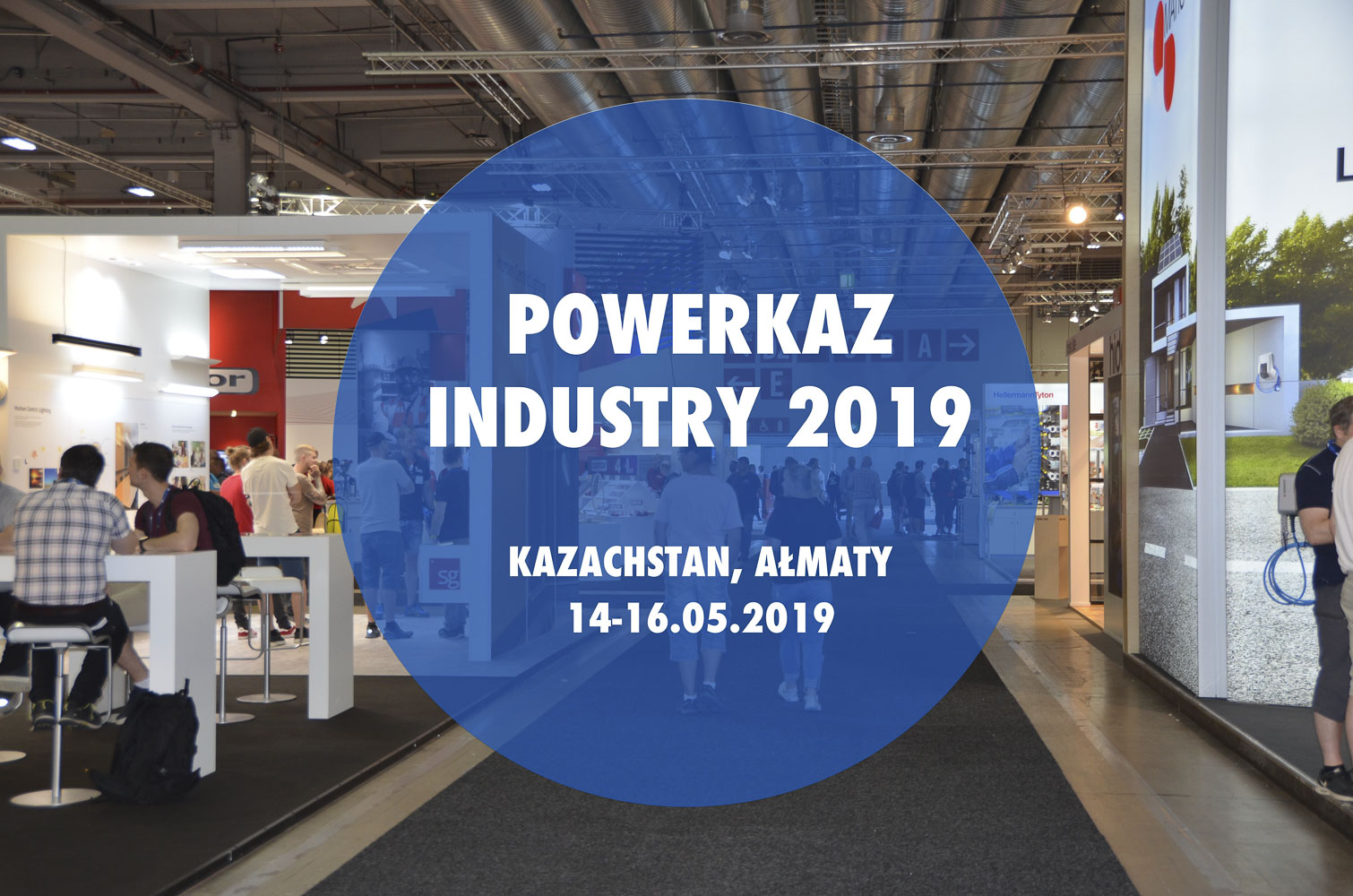 Zapraszamy na nasze stoisko POWER-KAZINDUSTRY 2019